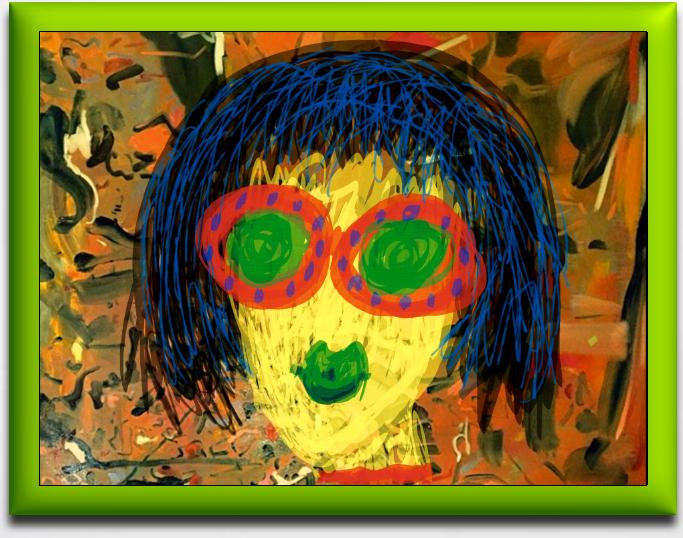 Shady Lady with Lime Aura